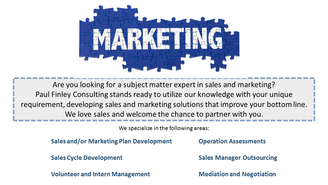 Sales and Marketing - Website